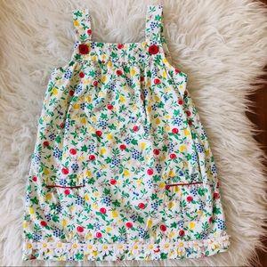 Mini Boden Apple Pinnie Cotton Dress